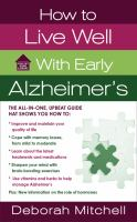 How to Live Well With Early Alzheimer's Disease