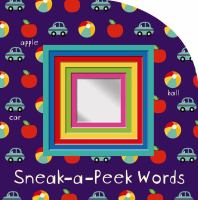 Sneak-a-peek Words