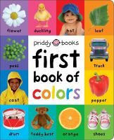 First Book Of Colors Padded *