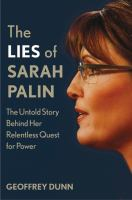 The Lies Of Sarah Palin