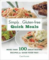 Simply - Gluten-free Quick Meals