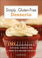 Simply-- Gluten-free Desserts