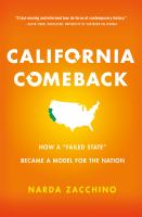 California Comeback