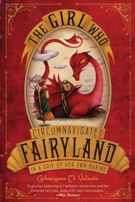 The Girl Who Circumnavigated Fairyland book cover