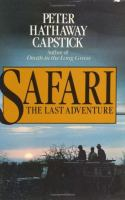 Safari, The Last Adventure