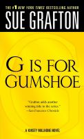 """G"" Is for Gumshoe"
