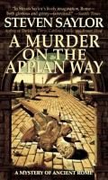 A Murder On The Appian Way : A Mystery Of Ancient Rome