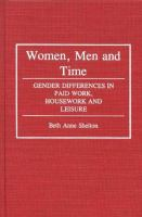Women, Men and Time