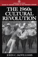 The 1960s Cultural Revolution