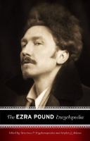 The Ezra Pound Encyclopedia
