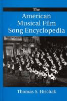 The American Musical Film Song Encyclopedia