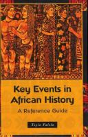 Key Events in African History