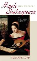Music From the Age of Shakespeare