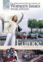 The Greenwood Encyclopedia of Women's Issues Worldwide