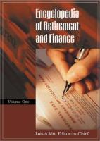 Encyclopedia of Retirement and Finance