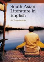 South Asian Literature in English