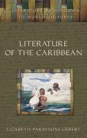 Literature of the Caribbean