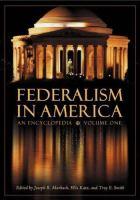 Federalism in America