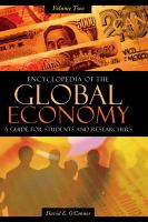 Encyclopedia of the Global Economy
