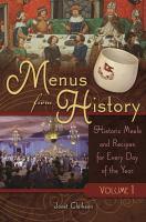 Menus From History