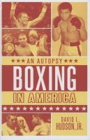 Boxing in America