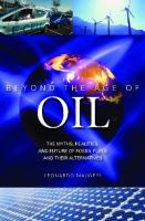 Beyond the Age of Oil