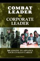 Combat Leader to Corporate Leader