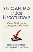 The Essentials of Job Negotiations