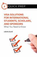 Visa Solutions for International Students, Scholars, and Sponsors