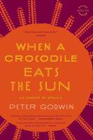 When A Crocodile Eats the Sun