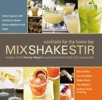 Mixshakestir
