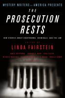 Mystery Writers of America Presents the Prosecution Rests