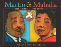 Cover of Martin & Mahalia: His Word
