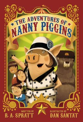 Cover image for The Adventures of Nanny Piggins