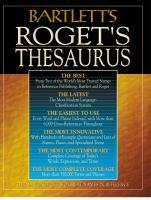 Bartlett's Roget's Thesaurus