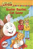 A Marc Brown Arthur Chapter Book