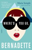 Cover of Where'd You Go Bernadette?