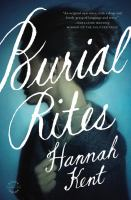 Burial rites : a novel