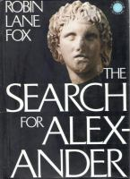 The Search for Alexander
