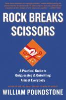 Rock Breaks Scissors