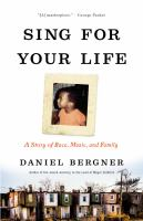 Cover of Sing for Your Life: A Stor