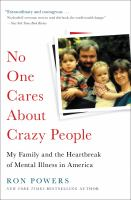 No One Cares About Crazy People [GRPL Book Club]