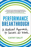 Performance Breakthrough