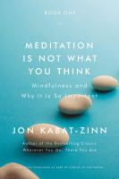 Image: Meditation Is Not What You Think