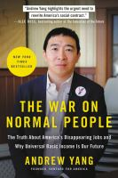 The War on Normal People