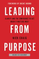 Leading From Purpose