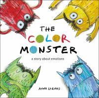 The Color Monster Book Cover
