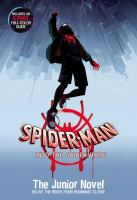 Spider-Man into the spider-verse : the junior novel