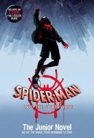 Spider-Man into the spider-verse : the junior novel