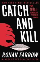 Cover of Catch and Kill: Lies, Spie